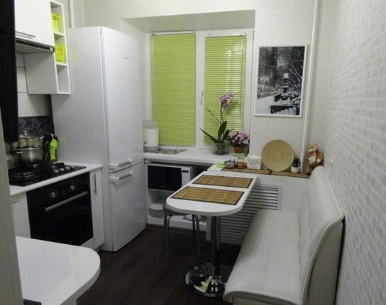 Кухни 9 кв метров дизайн с уголком