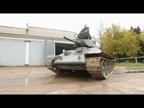 НЕФАКТ. Танк Т-34