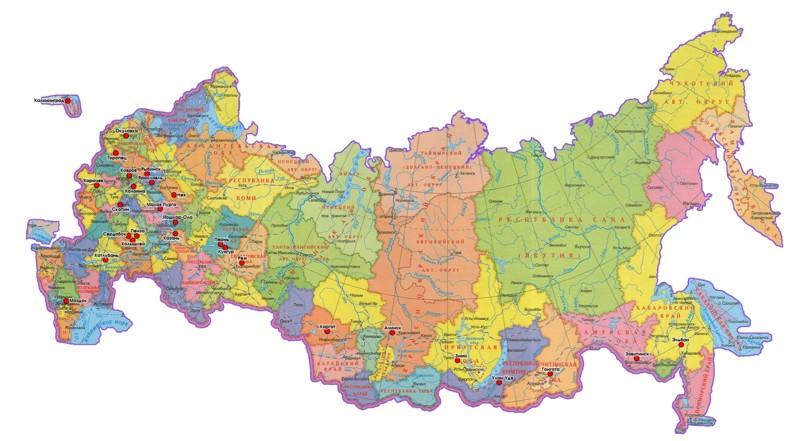 Путешествие по Классификатору адресов России