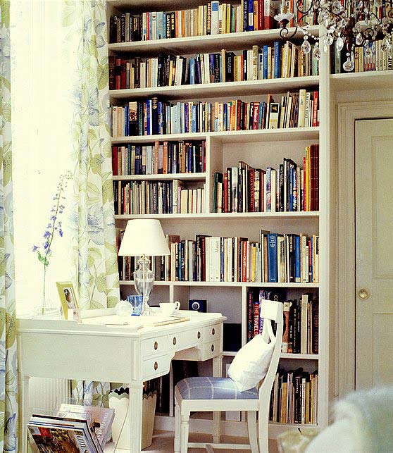 Библиотека в доме. Как обустроить домашнюю библиотеку