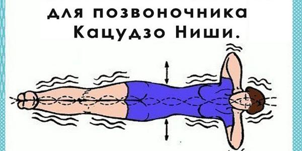 """Упражнение для позвоночника """"Золотая рыбка"""""""
