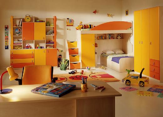 Как обустроить детскую комнату. Дизайнерские решения.