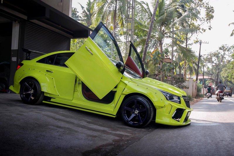 Злой тюнинг Chevrolet Cruze по-индийски