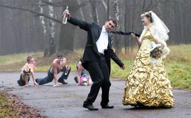 12 крутых фоток с деревенских свадеб. Давно я так не смеялась!