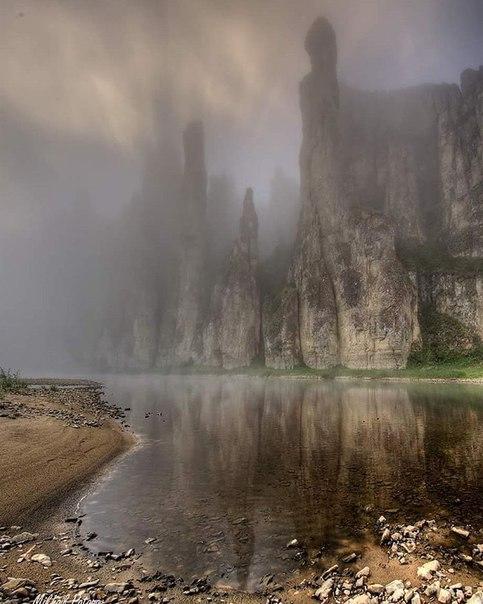 Река Синяя, Якутия...