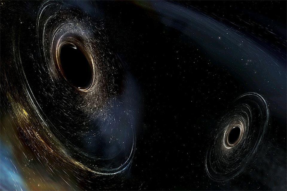 Ученые зафиксировали слияние двух черных дыр