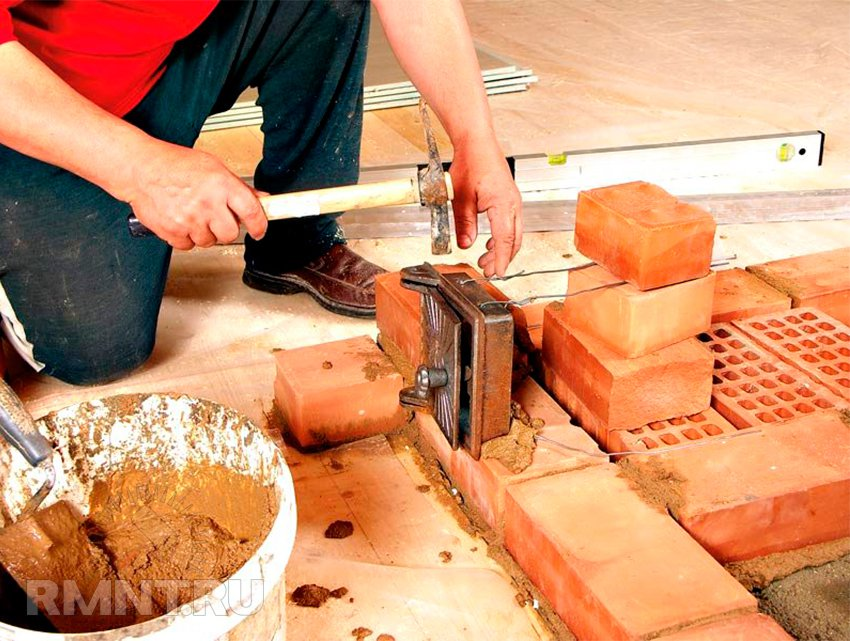 Строительство из кирпича своими руками