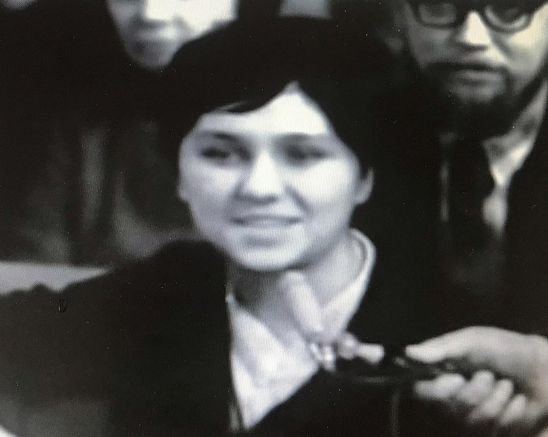 Мама Алисы на кинопленке 1967 года.