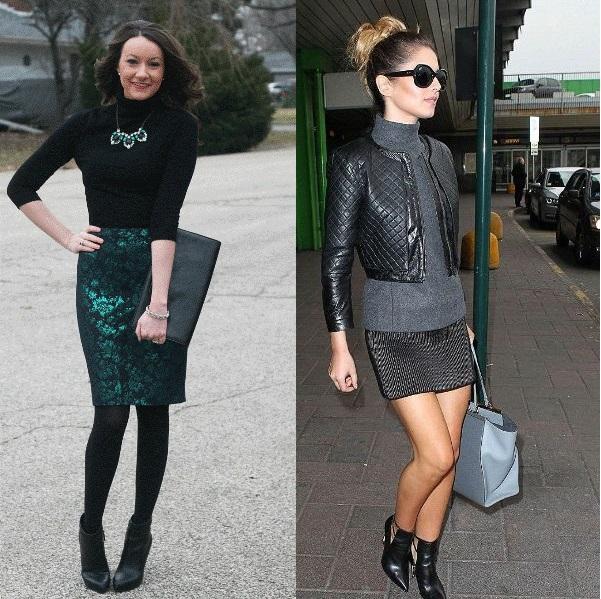 С чем носить водолазку: 14 ярких образов для модниц