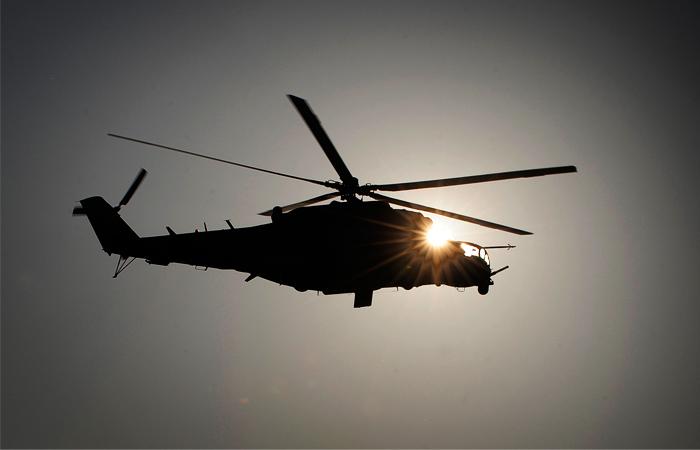 ИГИЛ заявляет о сбитом вертолете ВКС России под Пальмирой