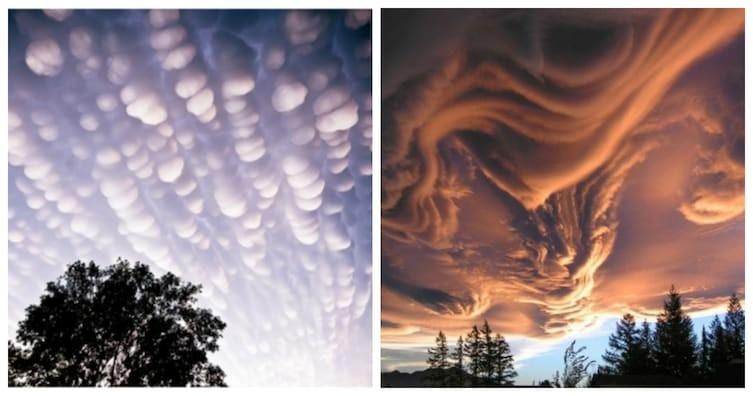 Еще более безумные облака необычное, природа, удивительное