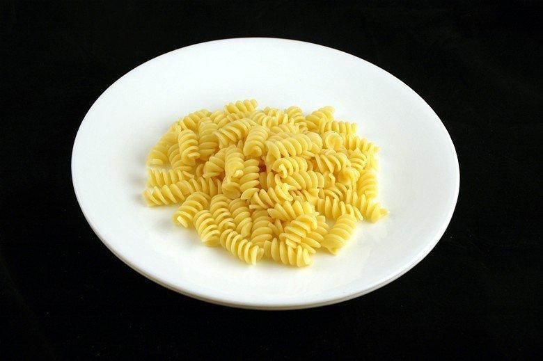 200 калорий на тарелке