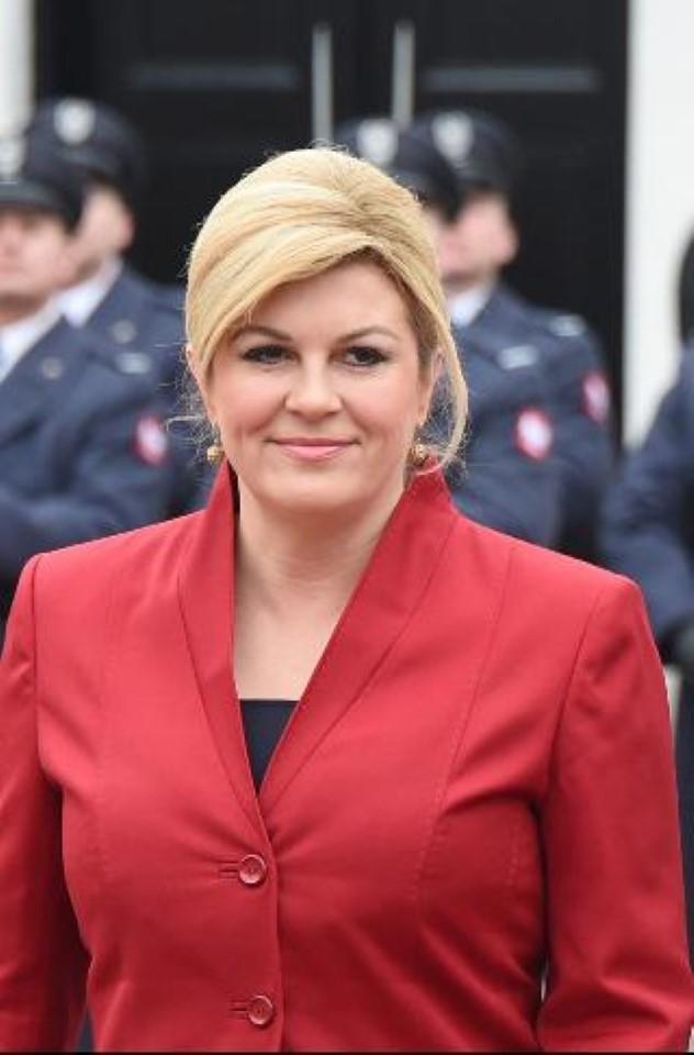 10 фотографий президента Хорватии, которые изменят ваше представление о женщинах у власти