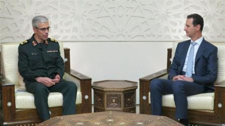 Президент Сирии иначальник Генштаба Ирана поздравили друг друга вДамаске