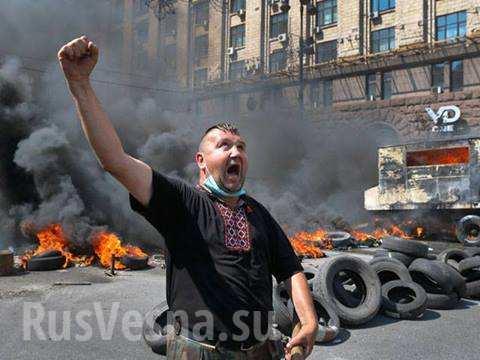 Европа проигнорировала шовинистические дикости украинского майдана, — немецкие СМИ