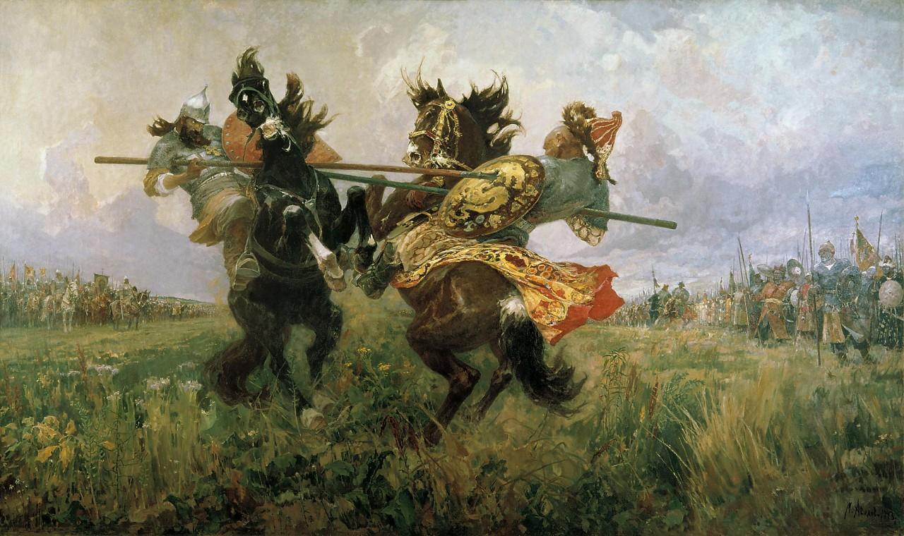 Герои Куликовской битвы!