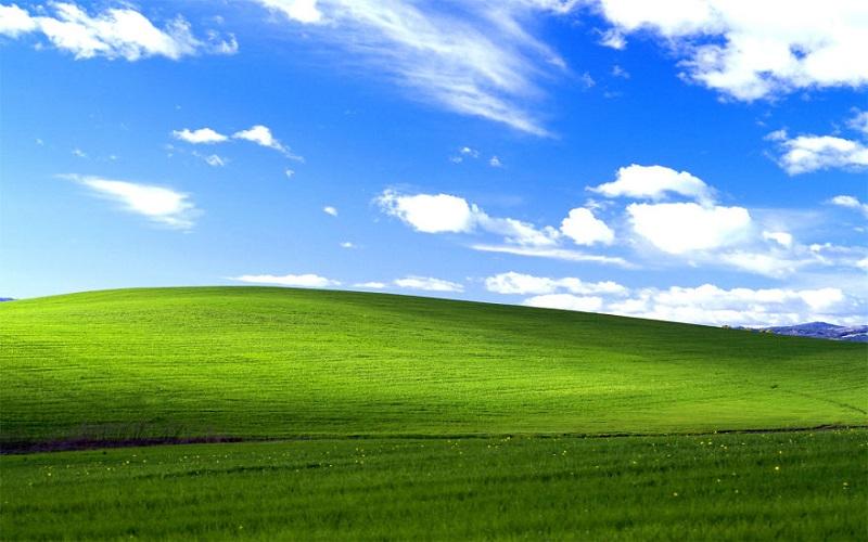 Ты видел эти обои Windows XP миллион раз, но никогда не догадывался, в чём их секрет