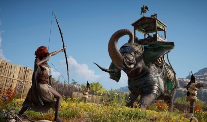Владельцам ПК-версии Assassin's Creed: Origins позволят сделать героя непобедимым божеством
