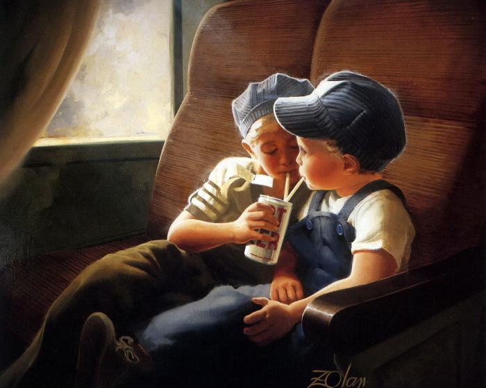 Настоящая дружба. Автор: Donald Zolan.