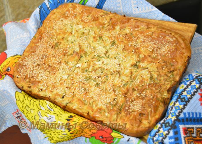 Самый простой и вкусный Заливной пирог с капустой!