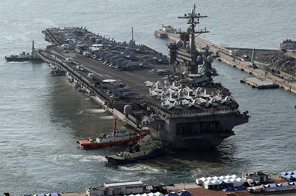Российские и китайские ракеты опасны для американских авианосцев