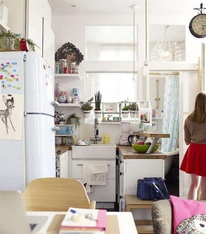 Идеальный столик для маленькой кухни