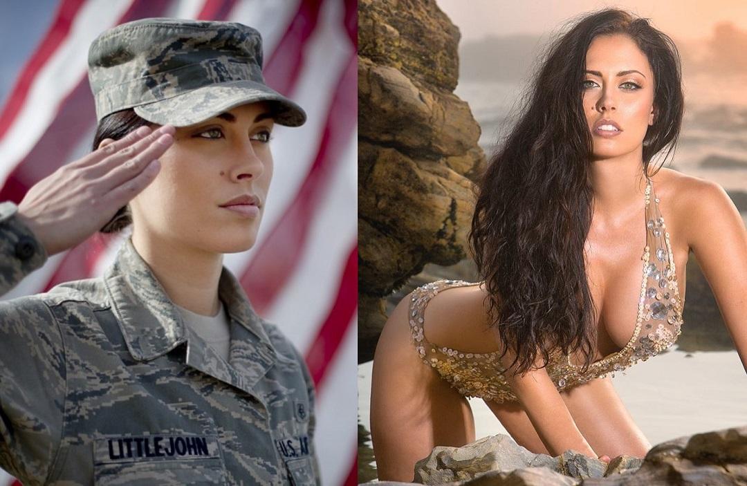 Самый привлекательный сержант в истории вооруженных сил США