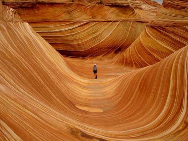 Неземные пейзажи планеты Земля