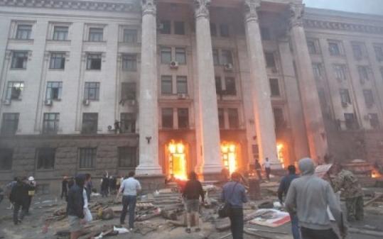 «Небесная сотня» померкла перед количеством реальных жертв, сгоревших или убитых в Одессе 2 мая 2014 года.