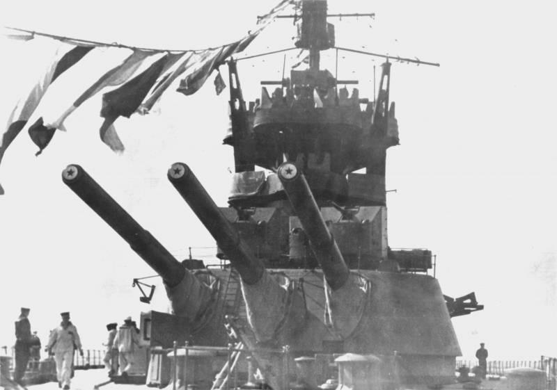 Линкоры типа «Марат». Модернизации главного калибра