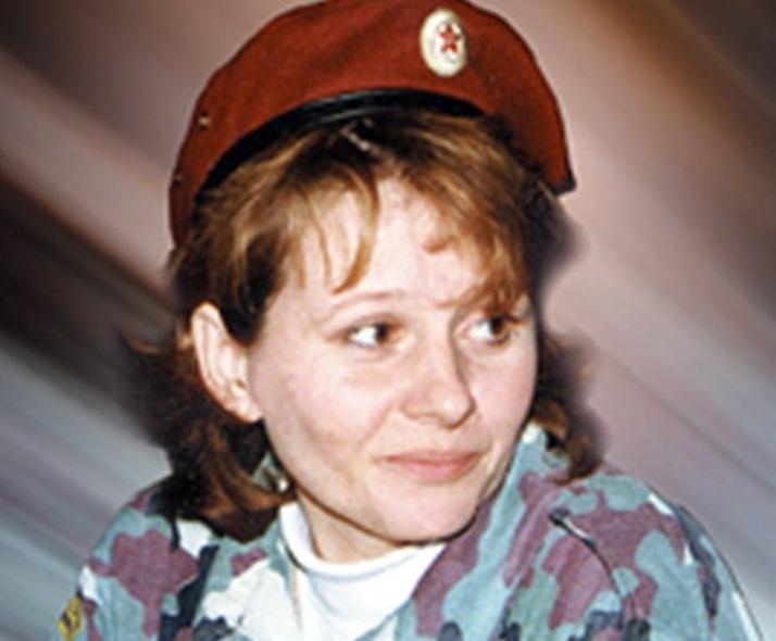 Галина Калинникова: единственная женщина в России, которой разрешили носить краповый берет