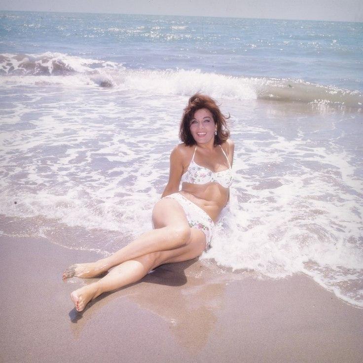 Сексапильная итальянка Джанна Канале на конкурсе красоты «Мисс Италия» в 1947 году
