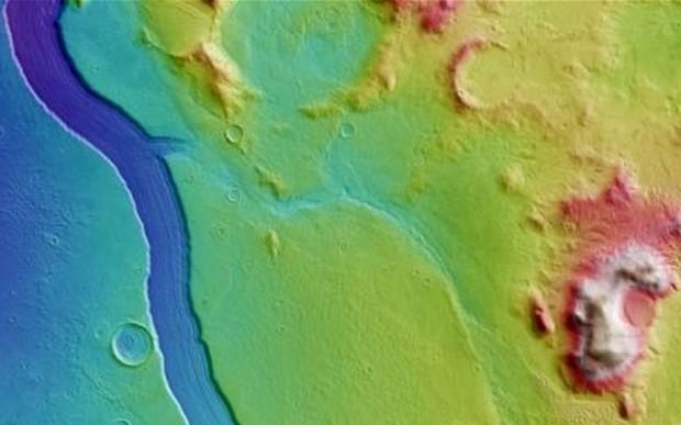 Откуда взялись реки на Марсе и куда они пропали?