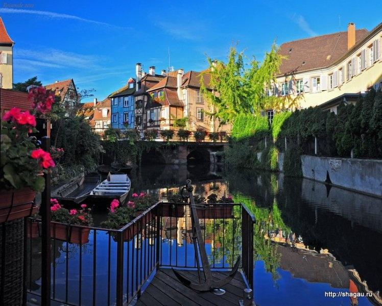 Кольмар, Colmar - самый красивый город Эльзаса, Франция фотография 7