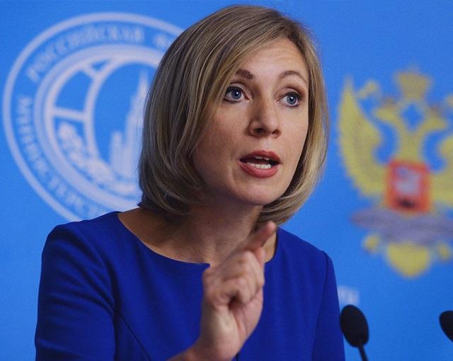 Захарова отреагировала на запрет въезда Самойловой в Украину