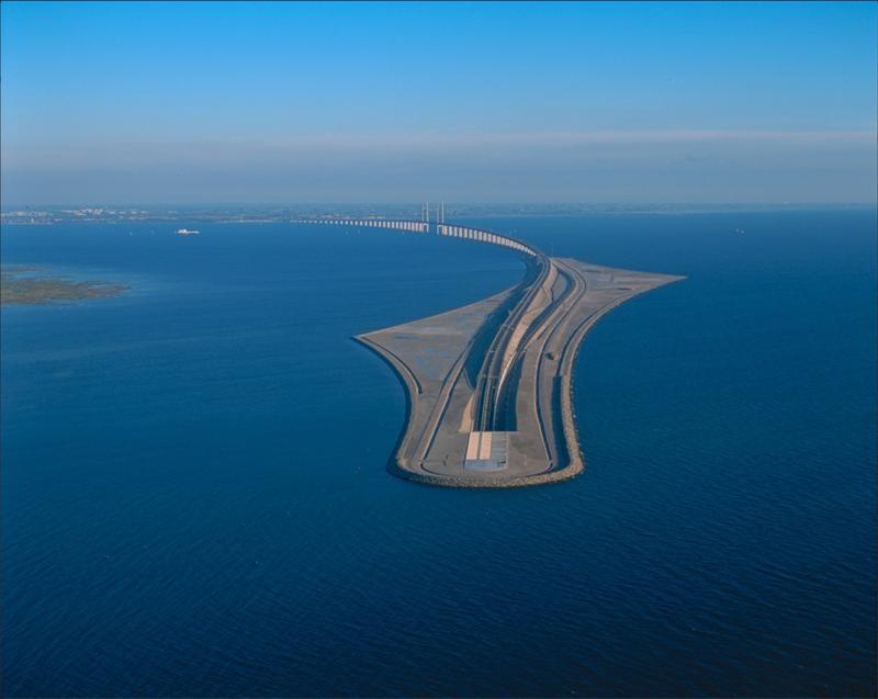 Эресуннский мост - шедевр мостостроения (7 фото)