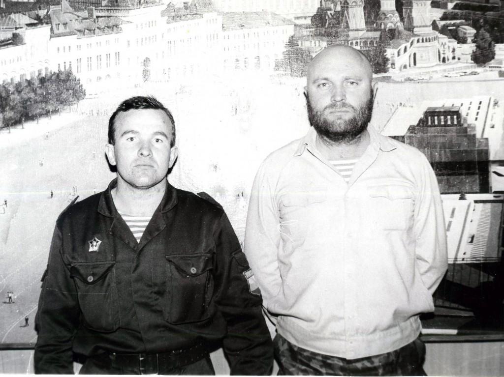 Малышев Николай и Новожилов Владимир