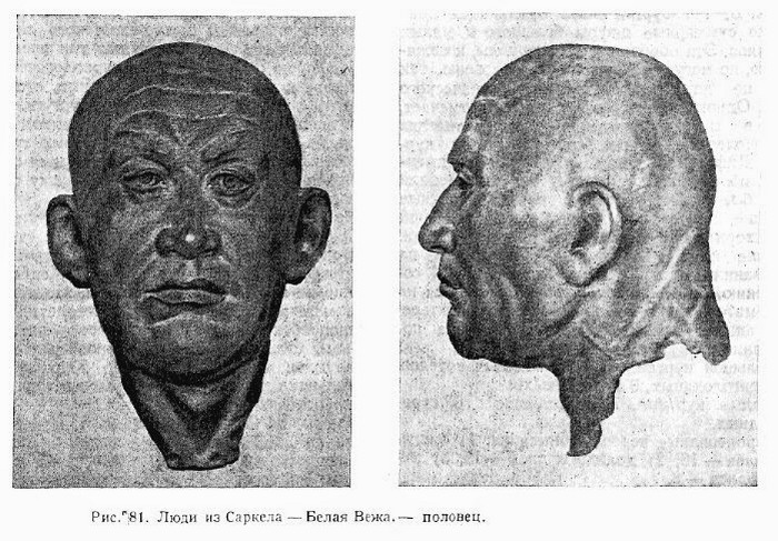 Половец из Саркела, реконструкция