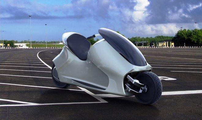 Самобалансирующий GyroCycle – мотоцикл, который никогда не падает
