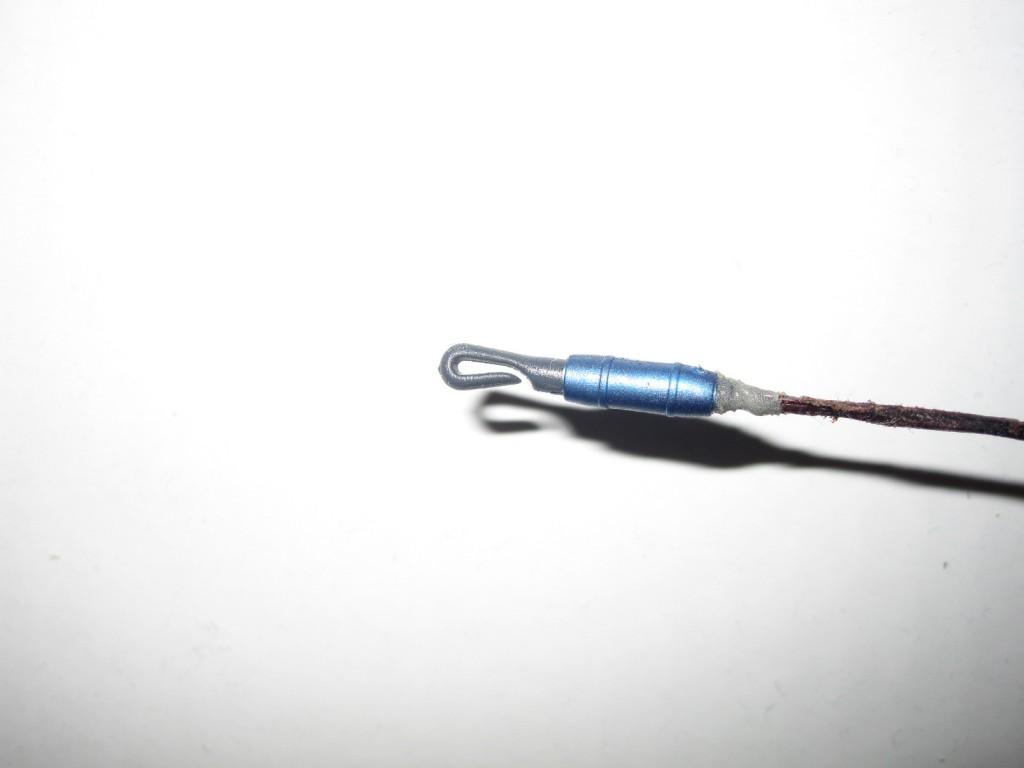 как правильно закрепить коннектор на удочку