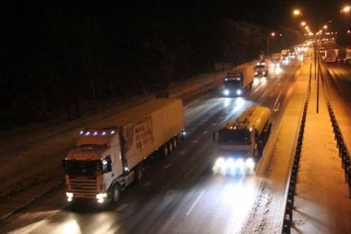 430 тонн гумпомощи из России Донбассу проверят украинские таможенники