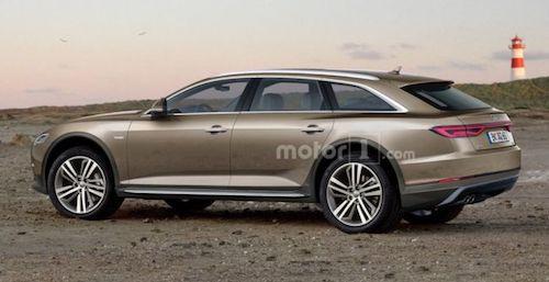 В Сети опубликован рендер нового Audi A6 Allroad 2019
