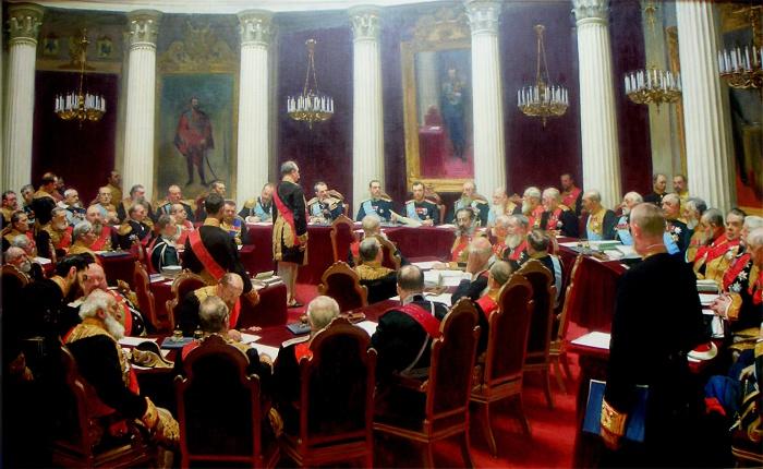 И.Е.Репин. «Торжественное заседание Государственного совета» (1903)