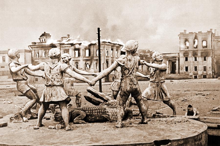 Неизвестный Сталинград: центральный вокзал