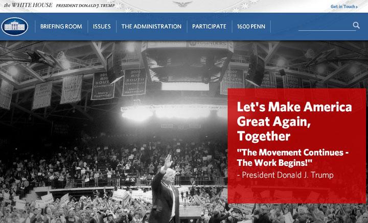 Раздел о правах ЛГБТ-сообщества удален с сайта Белого дома