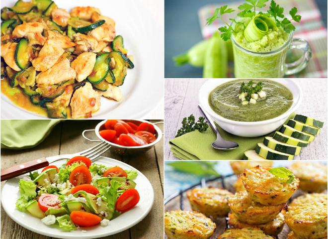 Кабачки: блюда с фото на целый день