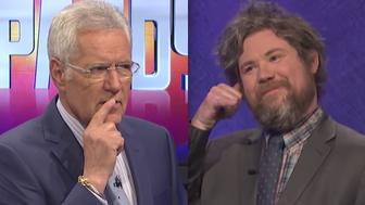 Cheeky 'Jeopardy' Champ Somehow Got Alex Trebek To Utter A Naughty Word