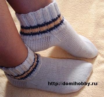 Для вязания носков подбирайте