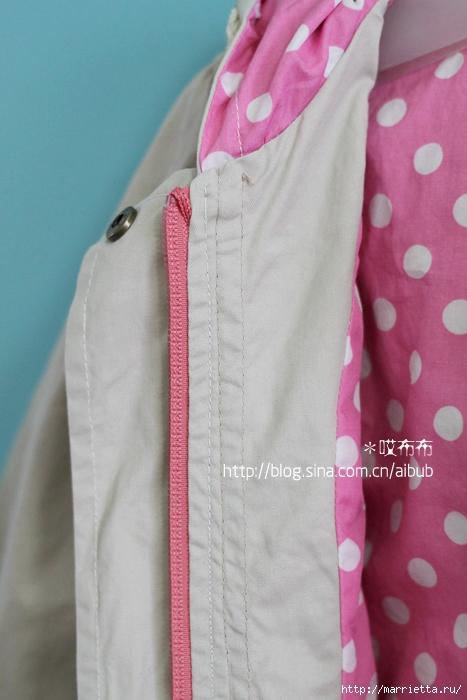 Как сшить детскую куртку своими руками мастер класс 176