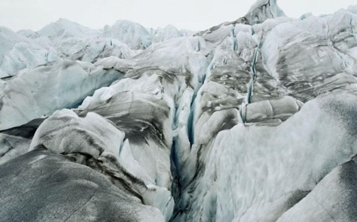 Невероятной красоты льды.